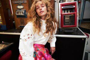 blouse borduur
