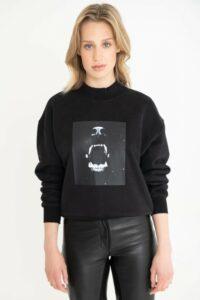 Janice sweater print