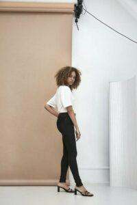 Skinny jeans black used